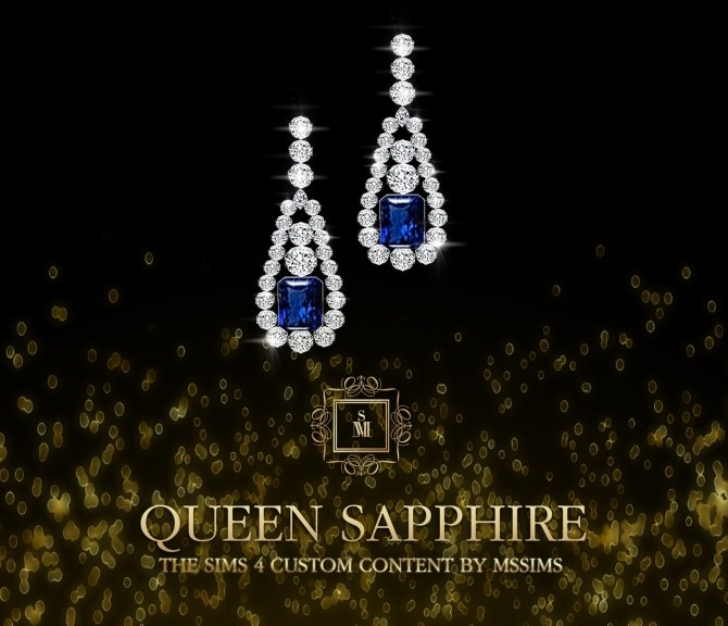 QUEEN SAPPHIRE SET (P) at MSSIMS image 7010 670x576 Sims 4 Updates