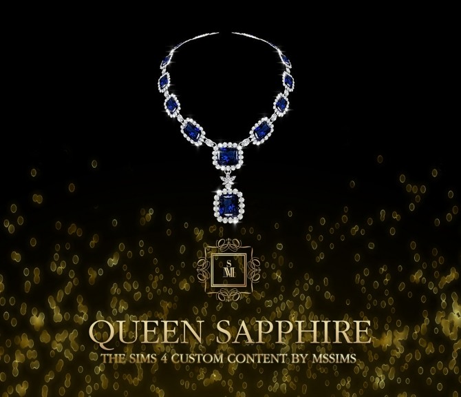 QUEEN SAPPHIRE SET (P) at MSSIMS image 7114 670x576 Sims 4 Updates