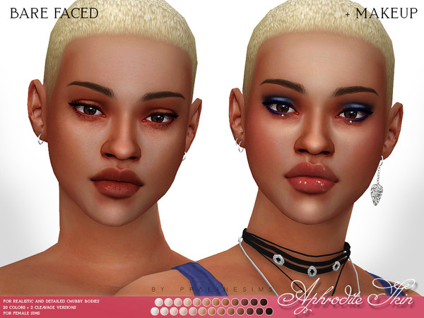 Aphrodite Skin F by Pralinesims at TSR image 7116 Sims 4 Updates