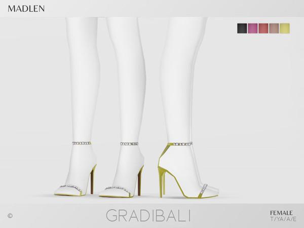 Madlen Gradibali Shoes by MJ95 at TSR image 7119 Sims 4 Updates