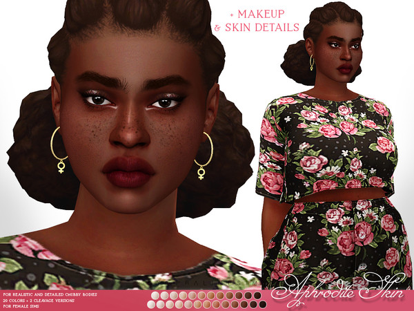 Aphrodite Skin F by Pralinesims at TSR image 7213 Sims 4 Updates