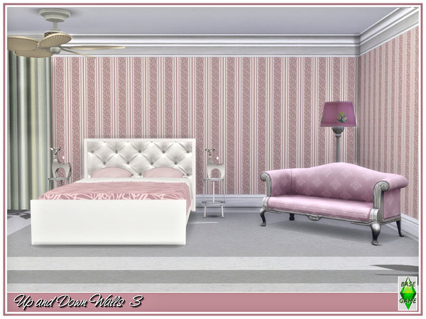 Sims 4 Up and Down Walls by marcorse at TSR