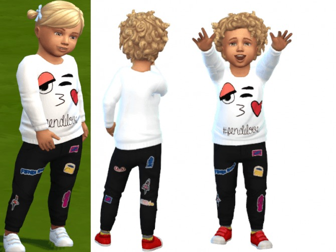 Sims 4 Outfit for boys at Louisa Creations4Sims