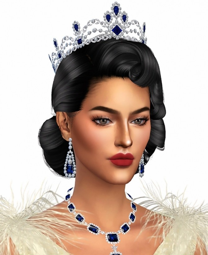 QUEEN SAPPHIRE SET (P) at MSSIMS image 7310 670x821 Sims 4 Updates