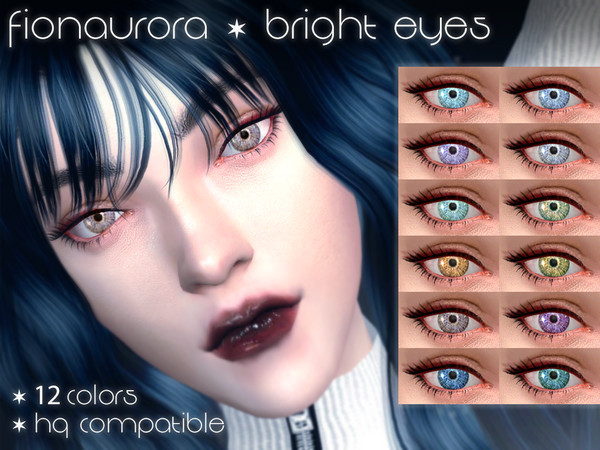 Bright Eyes by fionaurora at TSR image 739 Sims 4 Updates