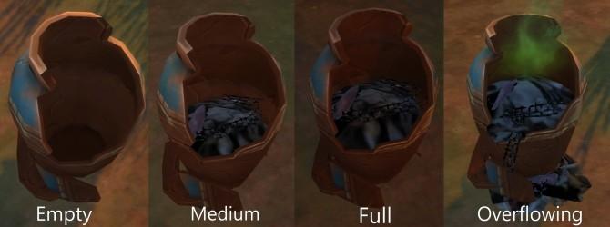 Sims 4 Trash can Selvadorada at Mod The Sims