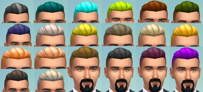 Sims 4 hair recolors downloads » Sims 4 Updates
