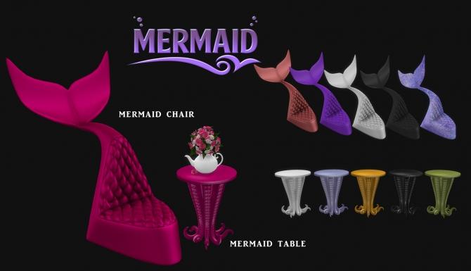 Mermaid Corner Set P At Leo Sims 187 Sims 4 Updates