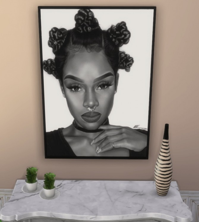 PORTRAITS OF BEAUTY at Paradoxx Sims image 779 670x748 Sims 4 Updates
