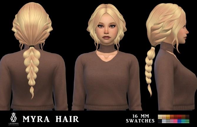Myra Hair MM (P) at Leo Sims image 789 670x432 Sims 4 Updates