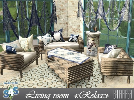 Relax living room at Aifirsa image 8014 Sims 4 Updates