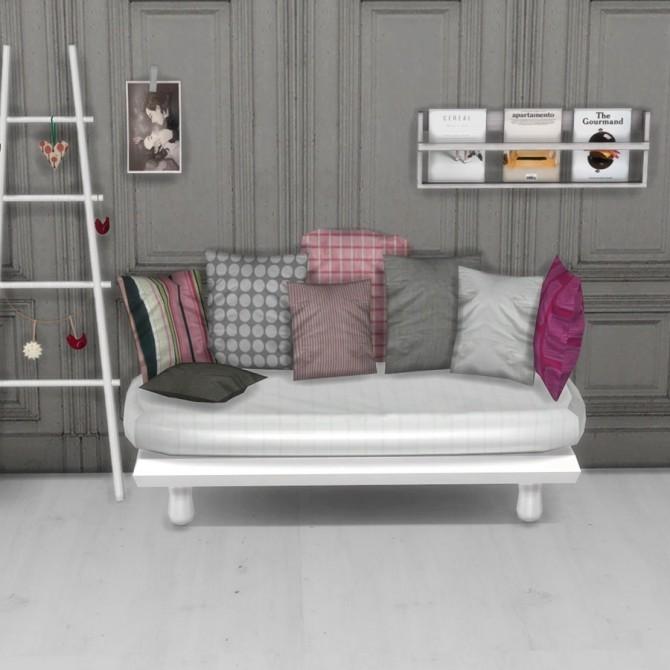 Sims 4 Cocoa Sofa at Leo Sims