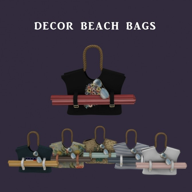 Beach Bags at Leo Sims image 8210 670x670 Sims 4 Updates