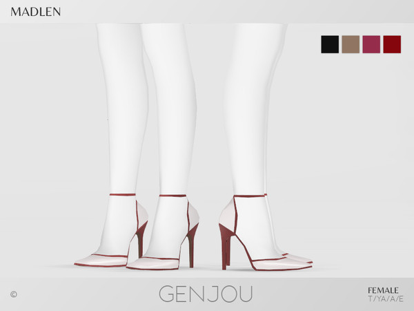 Sims 4 Madlen Genjou Shoes by MJ95 at TSR
