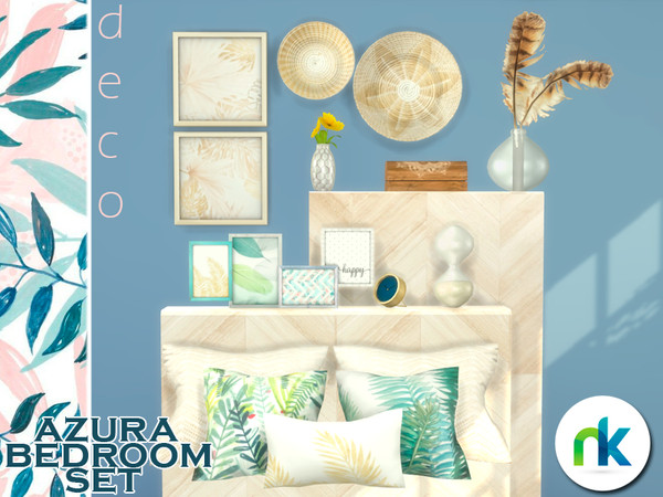 Sims 4 Azura Decorations by Nikadema at TSR