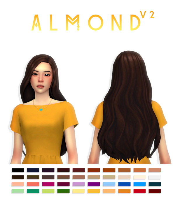 Almond hair V2 at Simandy image 8510 Sims 4 Updates