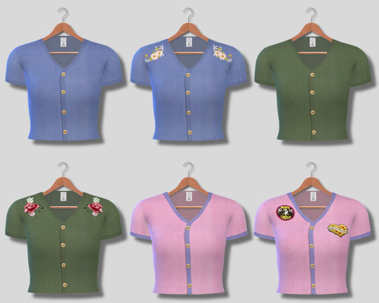 Button Up Shirts at Descargas Sims image 8512 Sims 4 Updates