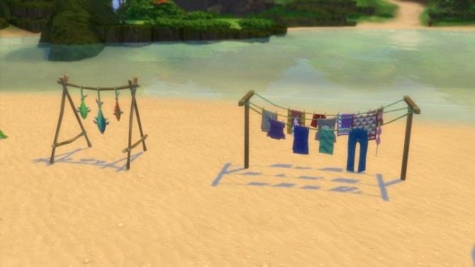Island Living Unlocked Items Pack By Isandor At Mod The