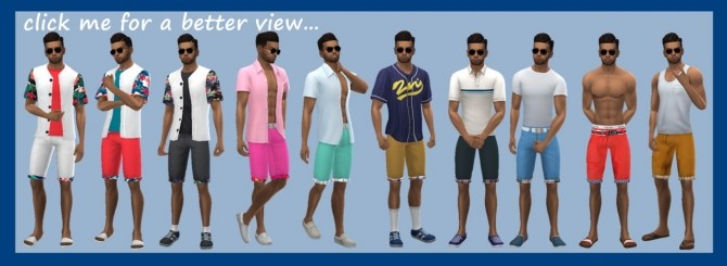 EP01 ROLLED SHORTS at Sims4Sue image 8810 670x245 Sims 4 Updates