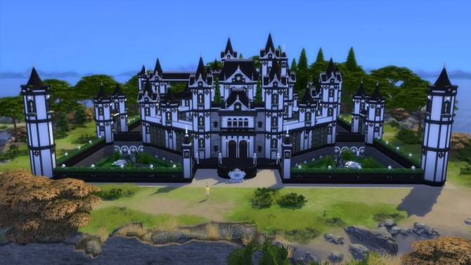 Sims 4 The Gothic castle by jordan1996 at L'UniverSims