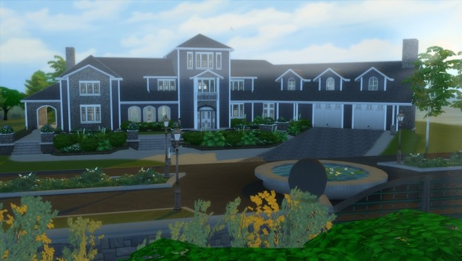 Legacy Home NO CC by wouterfan at Mod The Sims image 89 670x378 Sims 4 Updates