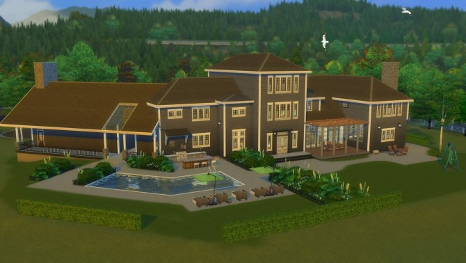 Legacy Home NO CC by wouterfan at Mod The Sims image 90 670x378 Sims 4 Updates