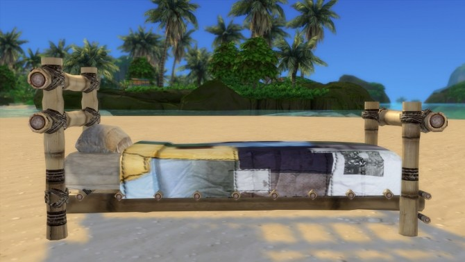 Sims 4 Better than Nothing Bed Conversion by morbidnacho at Mod The Sims