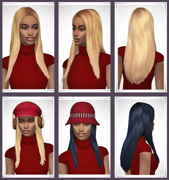 Naomi's Long Straight Hair at Birksches Sims Blog image 917 Sims 4 Updates