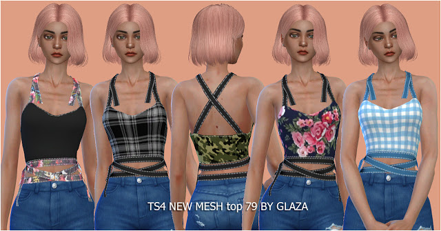 Top 79 at All by Glaza image 9222 Sims 4 Updates