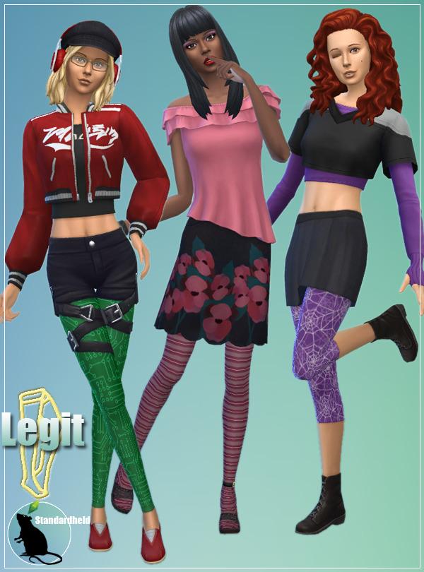 Legit Tights & Leggings at Standardheld image 9313 Sims 4 Updates