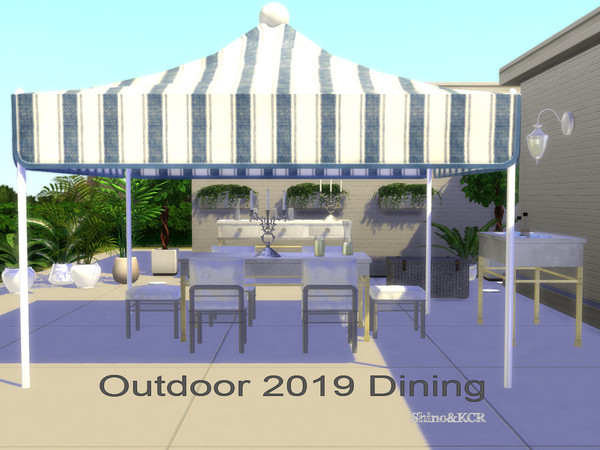 Dining Outdoor 19 by ShinoKCR at TSR image 9315 Sims 4 Updates