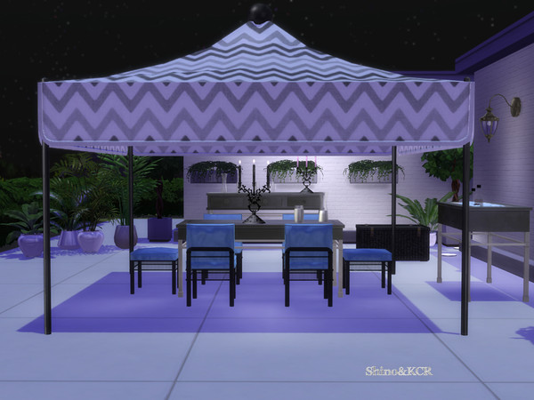 Dining Outdoor 19 by ShinoKCR at TSR image 9415 Sims 4 Updates