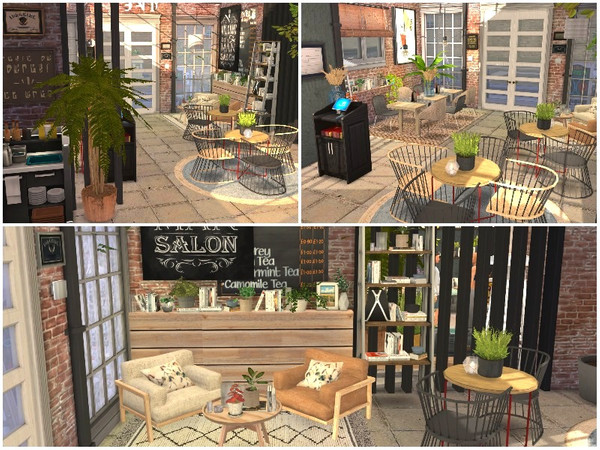 OLD QUARTER RESTAURANT by lotsbymanal at TSR image 950 Sims 4 Updates