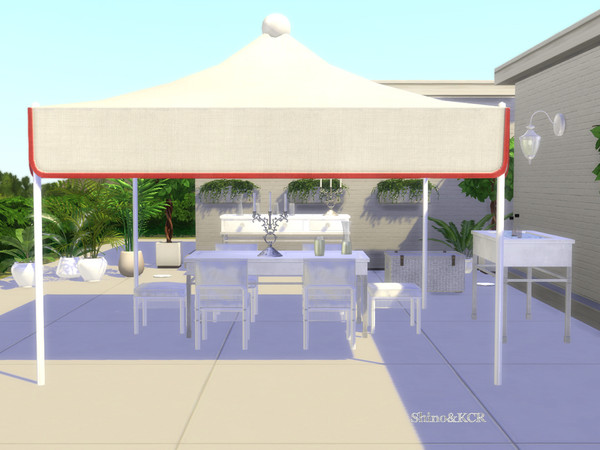 Dining Outdoor 19 by ShinoKCR at TSR image 9515 Sims 4 Updates