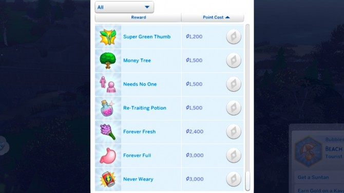 Cheaper or more expensive Aspiration Rewards by Todecide at Mod The Sims image 9519 670x377 Sims 4 Updates