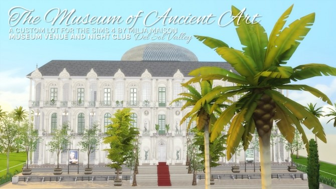 THE MUSEUM OF ANCIENT ART at Milja Maison image 953 670x377 Sims 4 Updates