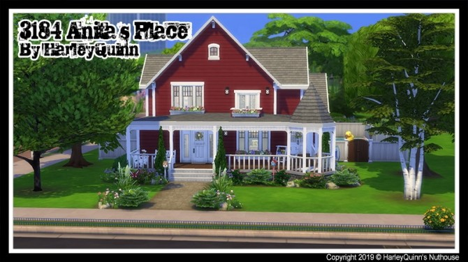 3184 Anitas Place at Harley Quinn's Nuthouse image 974 670x375 Sims 4 Updates