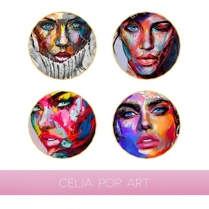 CELIA POP ART at Kenzar Sims image 979 670x671 Sims 4 Updates