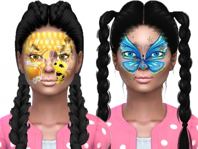 Face paint for kids at Trudie55 image 9811 670x503 Sims 4 Updates