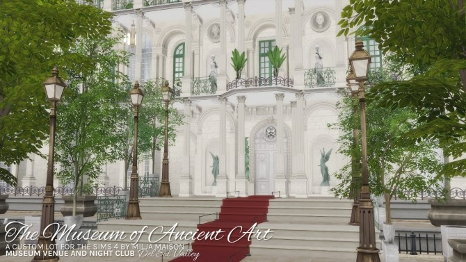 THE MUSEUM OF ANCIENT ART at Milja Maison image 983 670x377 Sims 4 Updates