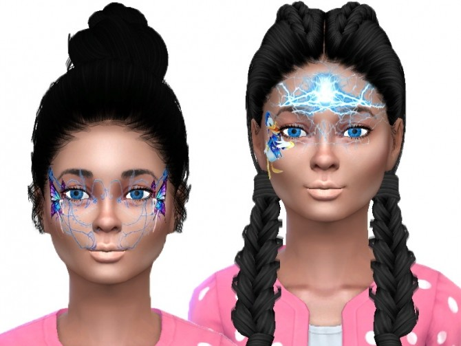 Face paint for kids at Trudie55 image 9911 670x503 Sims 4 Updates