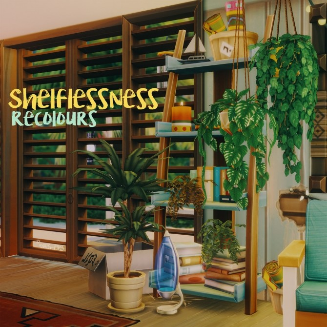 SHELFLESSNESS RECOLOURS at Picture Amoebae image 9921 670x670 Sims 4 Updates