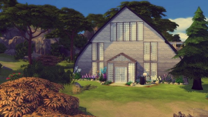 Sims 4 Mid NoWhere house at Simming With Mary