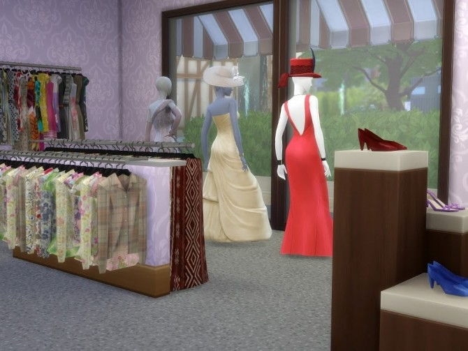 Sims 4 The Post Office at KyriaT's Sims 4 World
