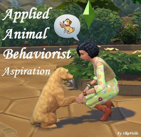 Sims 4 Applied Animal Behaviorist Aspiration by IlkaVelle at Mod The Sims
