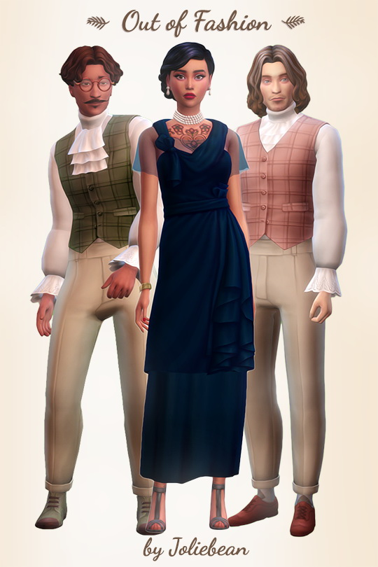 Out of Fashion historic set of clothes at Joliebean image 1056 Sims 4 Updates