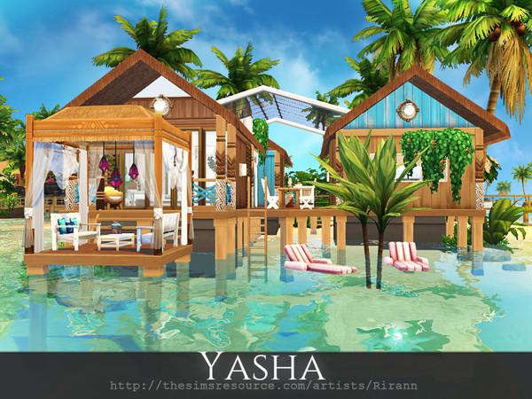 Yasha cosy beach retreat by Rirann at TSR image 11104 Sims 4 Updates