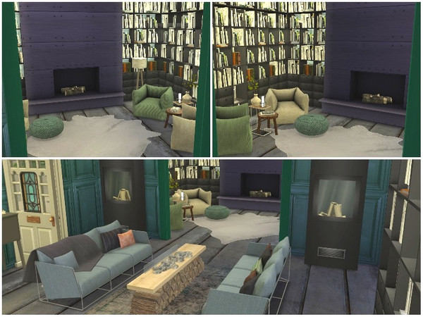 RAINBOW VILLAGE PART 3 by lotsbymanal at TSR image 1112 Sims 4 Updates
