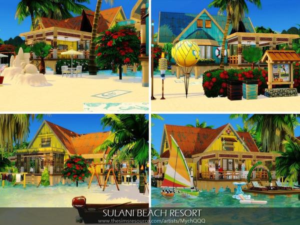 Sims 4 Sulani Beach Resort by MychQQQ at TSR