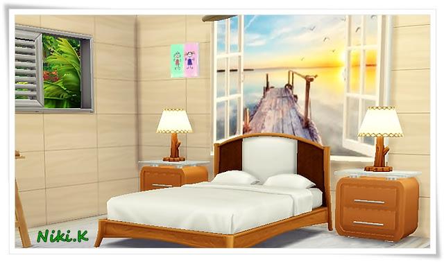 Sims 4 Holiday cottage at Niki.K Sims
